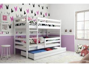 Patrová postel Eryk bílá