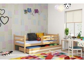Dětská postel Eryk 90x200 borovice