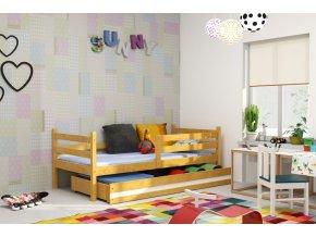 Dětská postel Eryk 90x200 olše