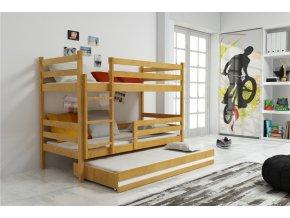 Patrová postel s přistýlkou Eryk olše