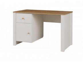 Psací stůl Bert 6 dub zlatý/crem