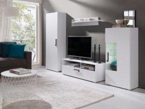Obývací stěna Mili bílá