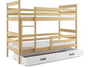 Patrová postel Norbert borovice/bílá