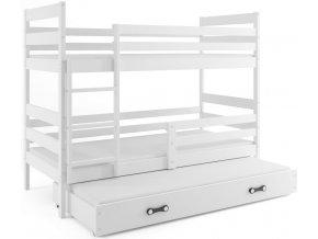 Patrová postel s přistýlkou Norbert bílá