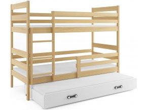 Patrová postel s přistýlkou Norbert borovice
