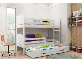 Patrová postel s přistýlkou Tamita bílá