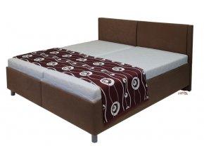 postel Martin 160x200cm, polohovací volně ložené matrace