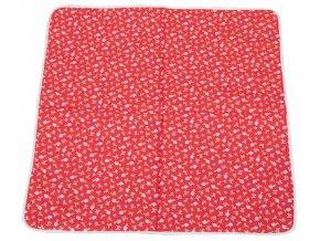 Hrací deka Scarlett PINA - červená