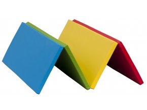 Skládací žíněnka Scarlett Dáša - vivid, 200 x 140 x 4 cm