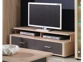 TV stolek Filemon R5 sonoma/grafit lesk