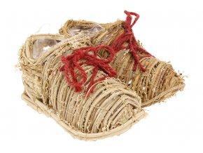 Obal ratanový - duo bota (pro obal pr.10cm).