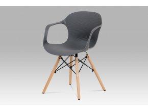 Jídelní židle, šedá, ALBINA GREY