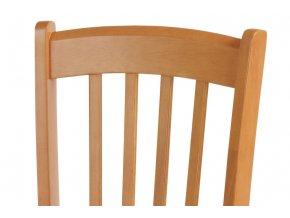Jídelní židle celodřevěná, olše AUC-005 OL