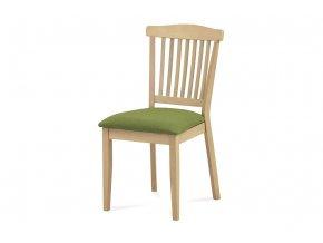 Jídelní židle BEZ SEDÁKU, bělený dub, C-187 OAK1