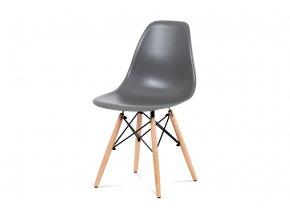 Jídelní židle, šedá, CT-758 GREY