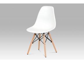 Jídelní židle, bílá, CT-758 WT