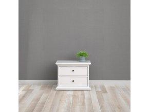 Noční stolek Provence 301 bílý