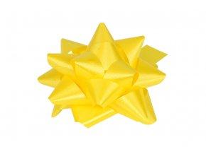 Rosetka samolepící střední, barva žlutá