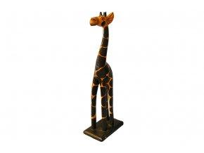 Dřevořezba - žirafa