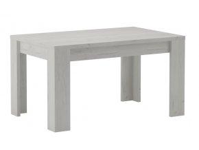Jídelní stůl rozkládací 160 INDIANAPOLIS jasan bílý