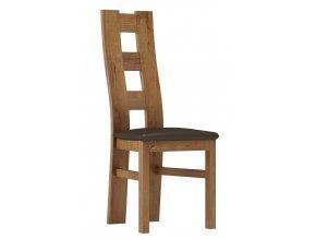 Čalouněná židle TADEÁŠ jasan světlý/Victoria 36
