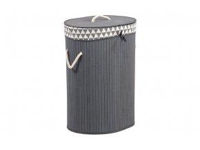 Koš prádelní z bambusu