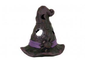 Klobouk keramický na čajovou svíčku