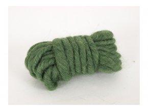 Bavlna dekorační, 3m, tmavě zelená 2