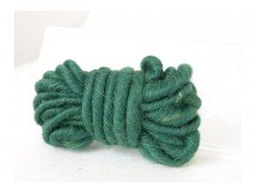 Bavlna dekorační, 3m, tmavě zelená