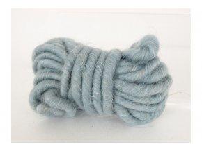 Bavlna dekorační, 3m, šedo-modrá