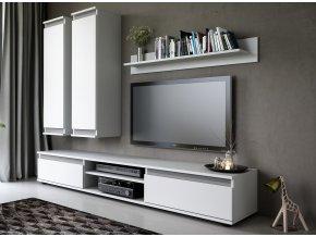 Obývací stěna OHIO bílá