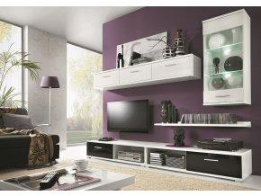 *Obývací stěna TAHITI černá