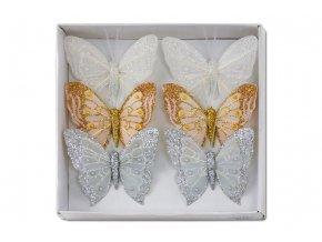 Motýl s klipem, cena za 12ks tj.1 box