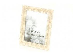 Fotorámeček plastový,foto velikost 13x18 cm