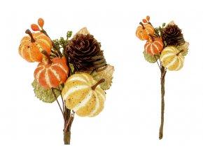 Větvička podzimní , umělá dekorace