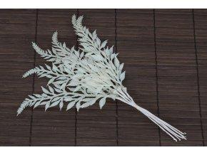 Větvička umělá bílá, cena za 1ks (12 ks polybag)