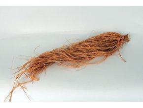 Rafia - oranžová barva