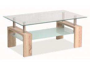Konferenční stolek LISA BASIC - dub sonoma