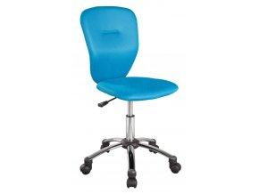 *Kancelářská židle Q-037 modrá