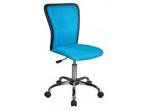 **Kancelářská židle Q-099 modrá/černá