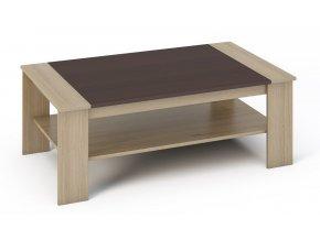 Konferenční stolek BARI sonoma/wenge