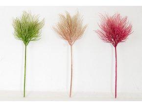 Cypřiš, mix tří barev. Květina umělá plastová.