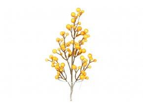 Větvička podzimní, umělá dekorace