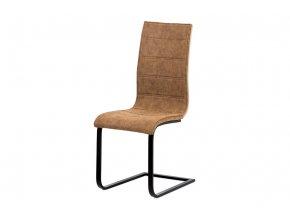 """Jídelní židle, látka """"COWBOY"""" hnědá, WE-5023 BR3"""