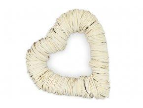 Srdce ze štípaného dřeva