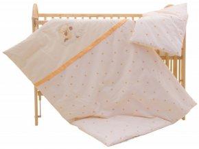Dětské povlečení 2dílné - Scarlett Šárka - béžová 100 x 135 cm