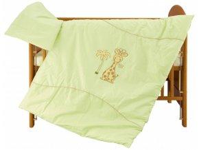 Dětské povlečení 2dílné - Scarlett Líza - zelená 100 x 135 cm