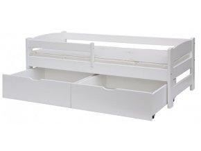 Šuplíky k posteli Scarlett SISI - 2kusy - bílá