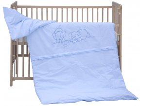 Dětské povlečení 2dílné - Scarlett Bimbo - modrá 100 x 135 cm