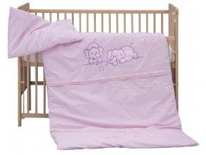 Dětské povlečení 2dílné - Scarlett Bimbo - růžová 100 x 135 cm